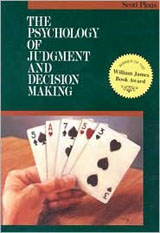 The Psychology of Judgement and Decision Making