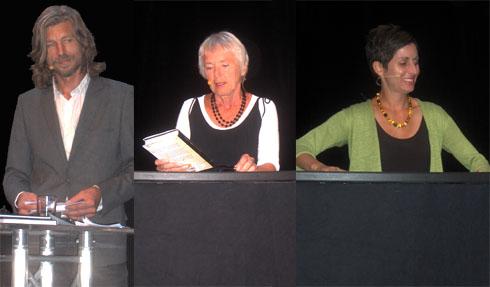 Karl Ove Knausgård, Margaret Skjelbred og Lisa Genova