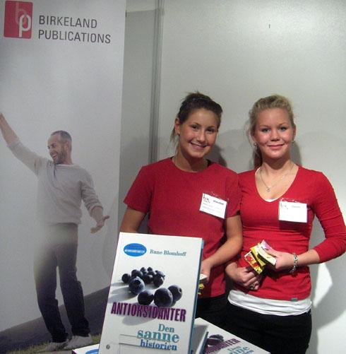 Sandra Lepsøy og Marianne Fjelberg