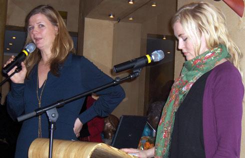 Anne Lindmo og Helle Vaagland