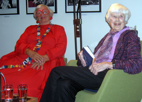 Mia Berner og Ebba Haslund