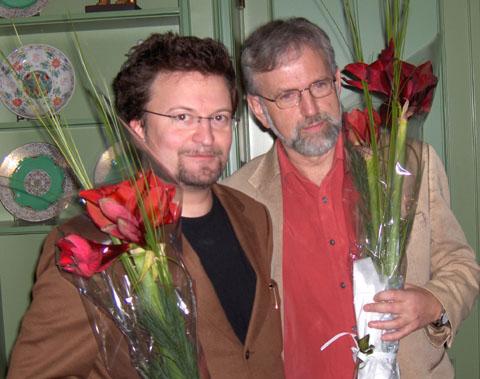 Torbjørn Færøvik og Erik Fosnes-Hansen