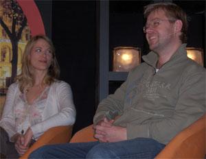 Helene Uri og Henrik Langeland